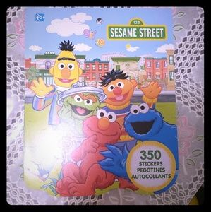 Other - Sesame street 350 Stickers Book